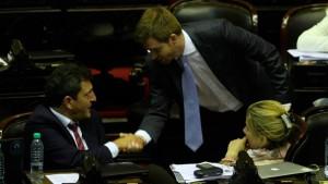 Massa y Massot negociaron aprobar el proyecto durante el debate de la reforma electoral. Pero fallaron.
