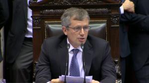 Emilio Monzó, presidente de Diputados, será clave para frenar la movida.