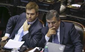 Nicolás Massot y Mario Negri, de las principales espadas de Cambiemos.