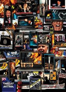 El consumo de malas noticias, ilustrado por Eddie Guy, para Rolling Stone.