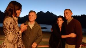 Las parejas Obama y Macri, en Villa La Angostura.