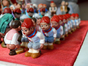 Caganer: Foto : Oriol Gascón i Cabestany / Flickr, en creative commons