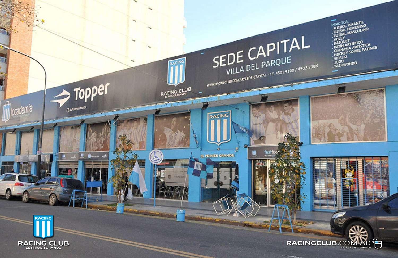 Rodríguez Larreta le da $ 6,4 millones a Racing para construir un techo en su sede porteña