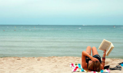 libros-en-playa