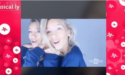 Lisa y Lena en Musical.ly