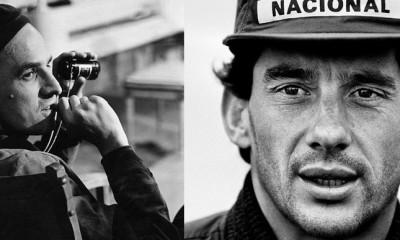 El automivilista brasileño Ayrton Senna.