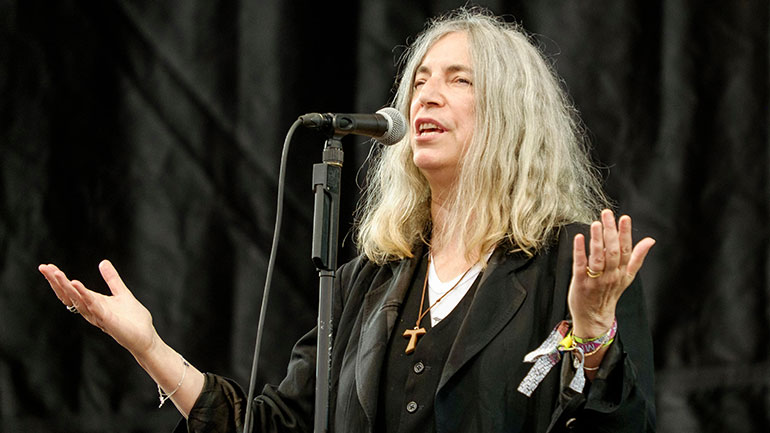 Patti Smith: entre héroes y anónimos