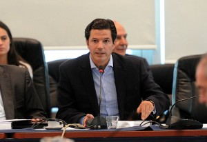 Luciano Laspina ganó notoriedad como titular de la Comisión de Presupuesto.
