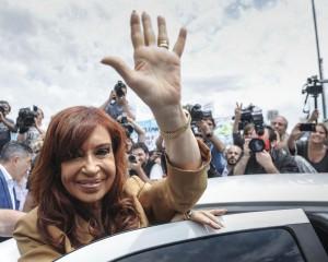 Cristina, amenaza en la Provincia.