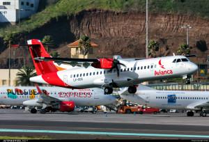 Avianca igual mandó un avión para tener listo para operar en Argentina.