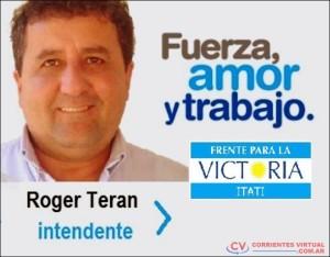 Al igual que Terán, el otro intendente apuntado también sería del FpV.