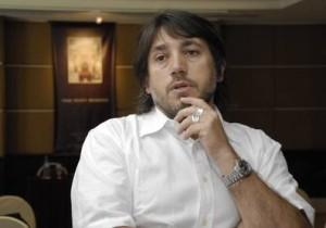 El promotor Pablo Baldini.