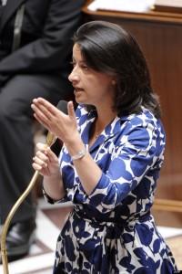 La ex ministra francesa Cecile Duflot, en 2012-