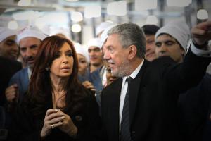 CFK y el empresario Cherñajovsky