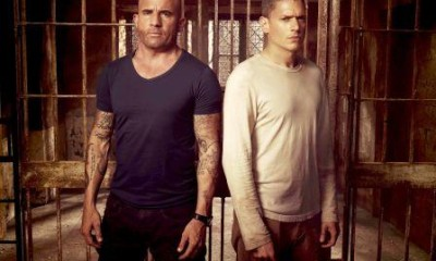 Dominic Purcell y Wentworth Miller en Prison Break - FOX