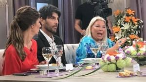 El domingo, Carrió participó del almuerzo con Mirtha Legrand.