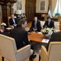Macri, con empresario petroleros.
