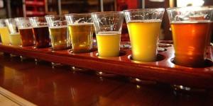 cerveza sampler