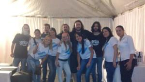La banda con militantes camporistas.