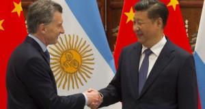 Macri y el presidente chino.