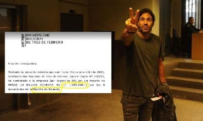 Amado Boudou enfrenta su primer juicio. El cantante de la Mancha de Rolando se hizo presente. 08.05.2017 Foto. Maxi Failla