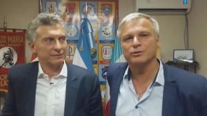 Macri elige al vecinalista Frizza.