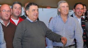 El diputado Negri y el ministro Aguad, sin alfiles.