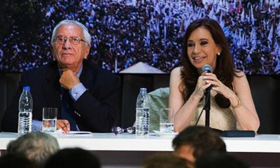 Recalde y CFK