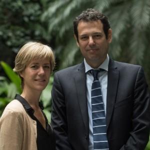 Gabriel Pérez Barberá y María Laura Roteta, fiscales a cargo de la Procelac.