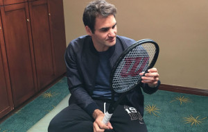 Federer raqueta