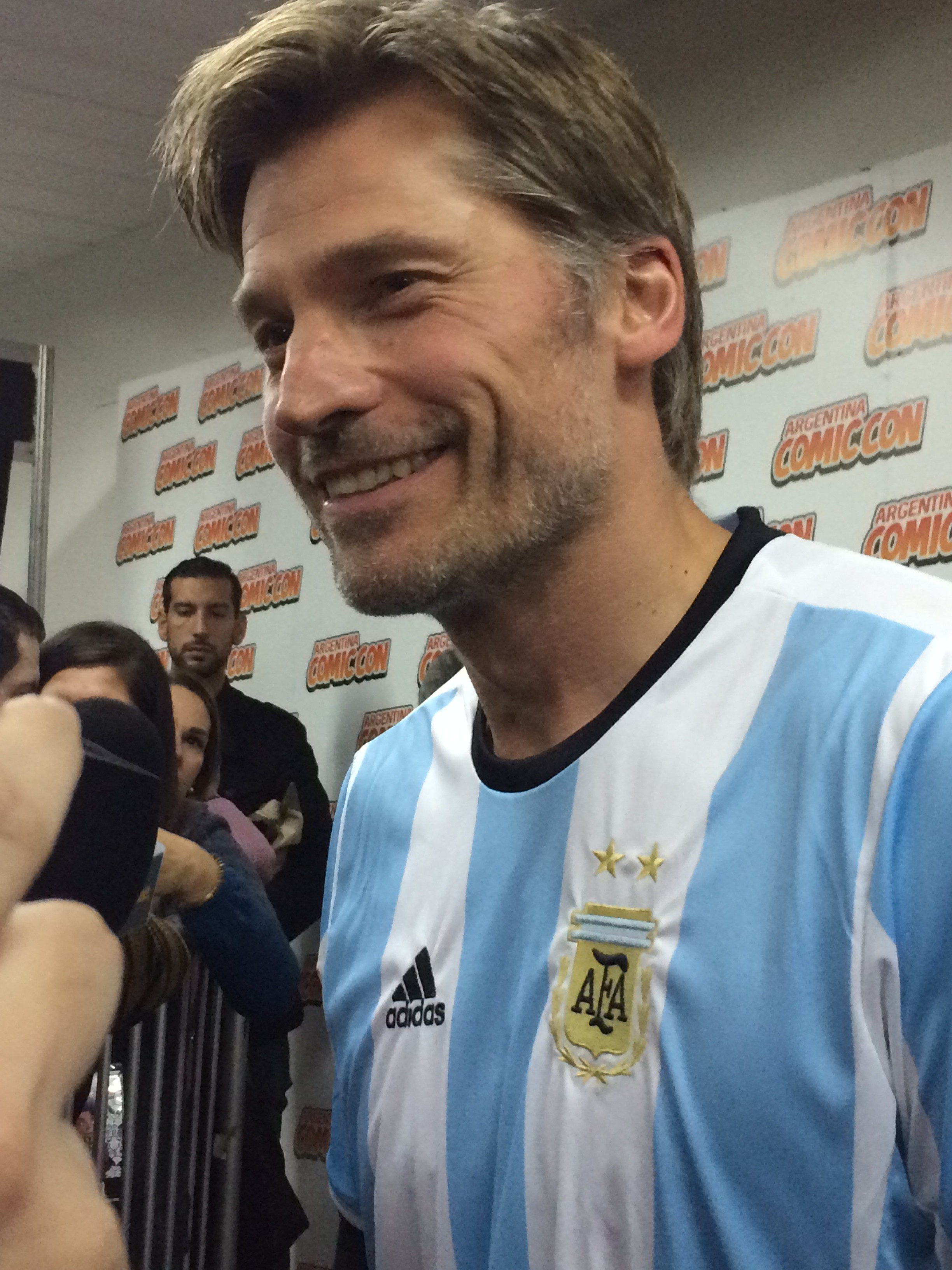 Nicolaj Coster Waldau en Argentina 2