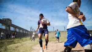 Los Espartanos, de la cárcel de San Martín. Ahora tambièn hay un equipo femenino.