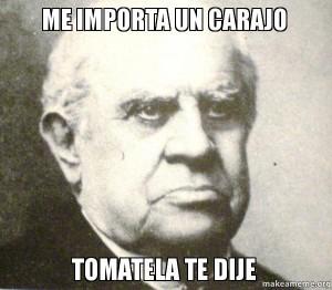 Sarmiento meme