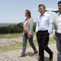 Vidal y Macri dos