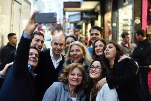 larreta carrió selfie