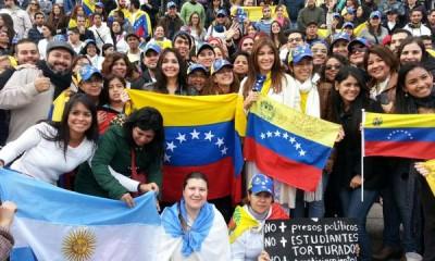 venezolanos en Argentina 1