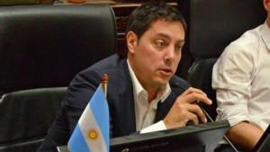 El legislador porteño García Vilas.