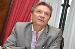 El exsuperintendente Luis Scervino. Macri le pidió la renuncia tras la marcha.