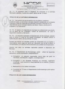 """Ordenanza que permite la """"eutanasia"""" en Sarmiento"""