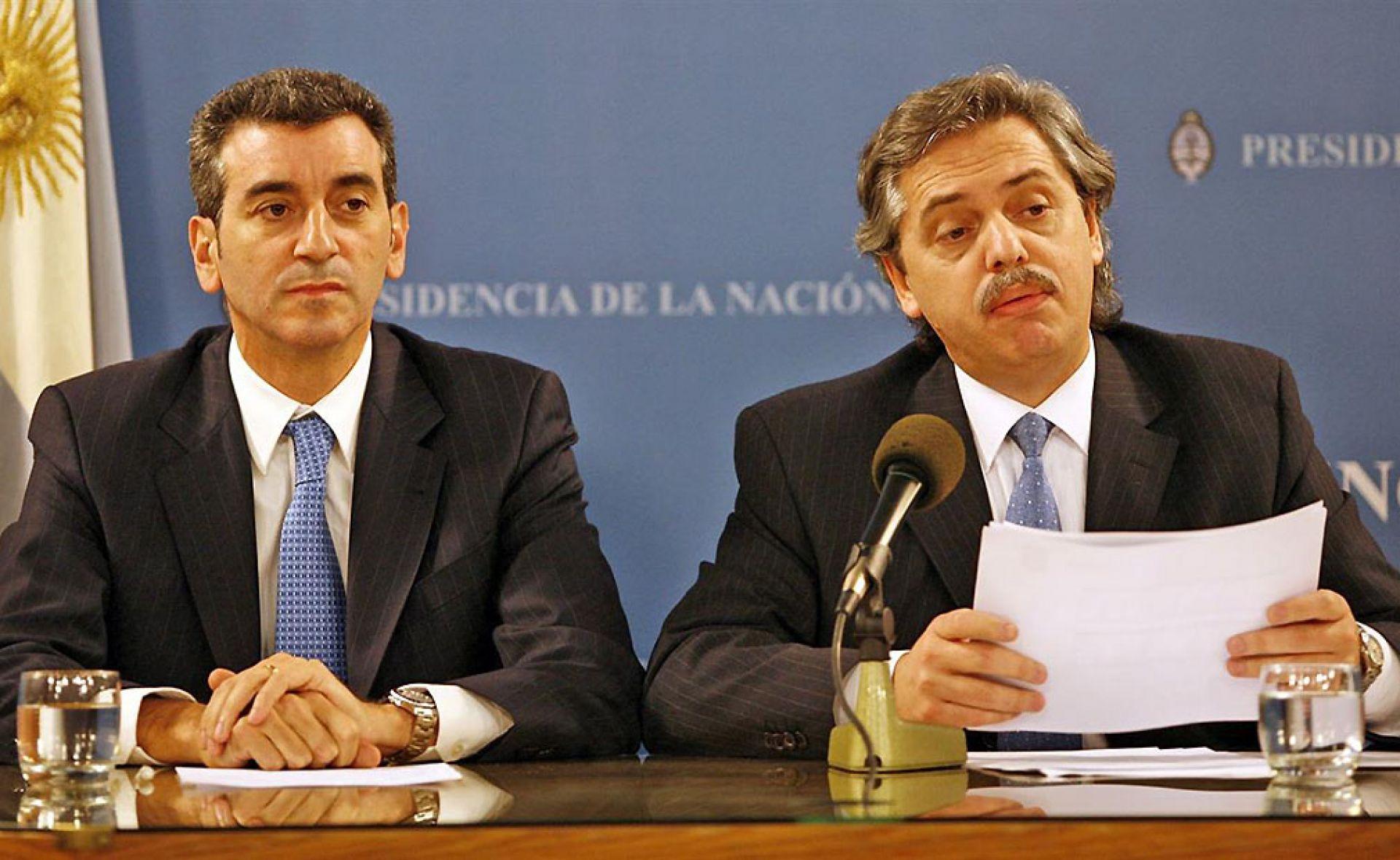 """Randazzo y Alberto F. Antes con Cristina. Ahora denuncian sus """"robos""""."""