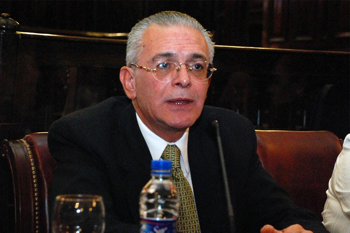 Roberto Godoy, decano del Cuerpo Médico Forense.