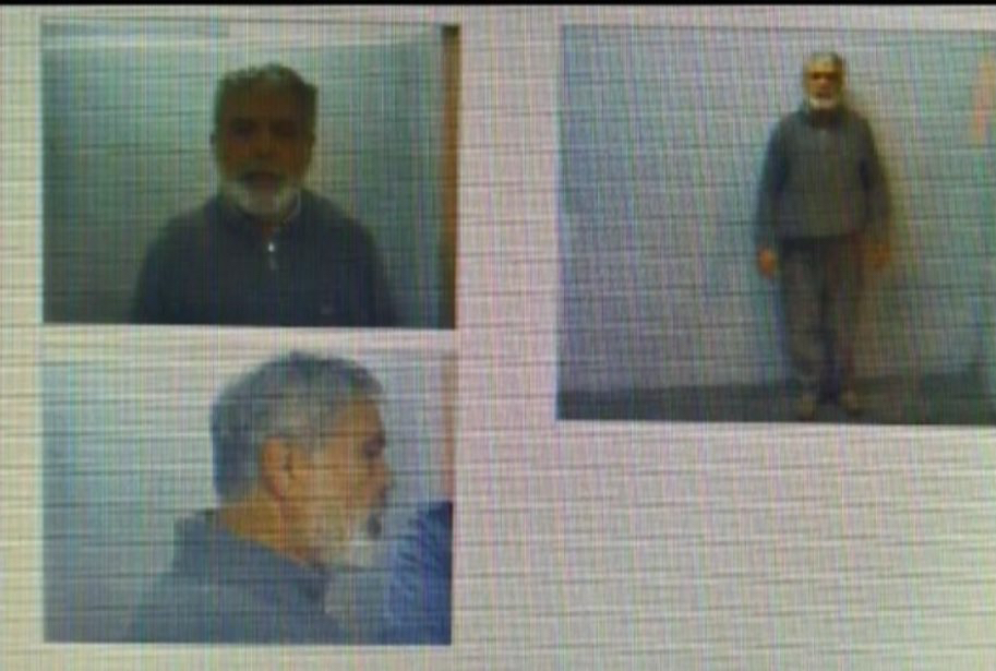 La foto oficial de De Vido en la cárcel.