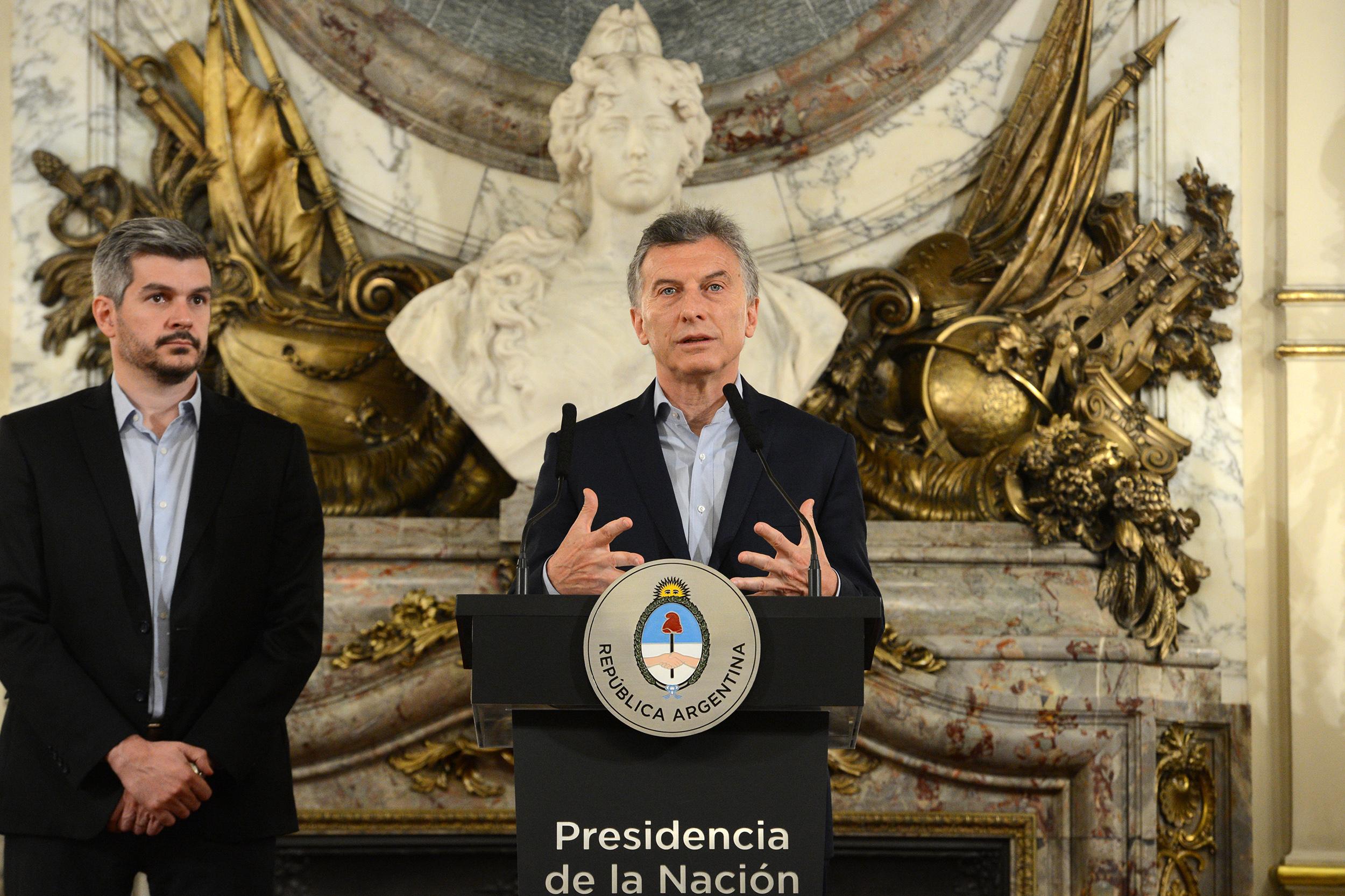 Macri será el orador. Peña invita.
