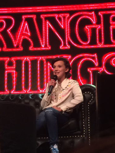 Millie Bobby Brown en Argentina ComicCon 2017