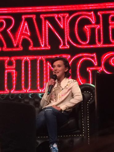 Millie Bobby Brown en Argentina ComicCon 2017