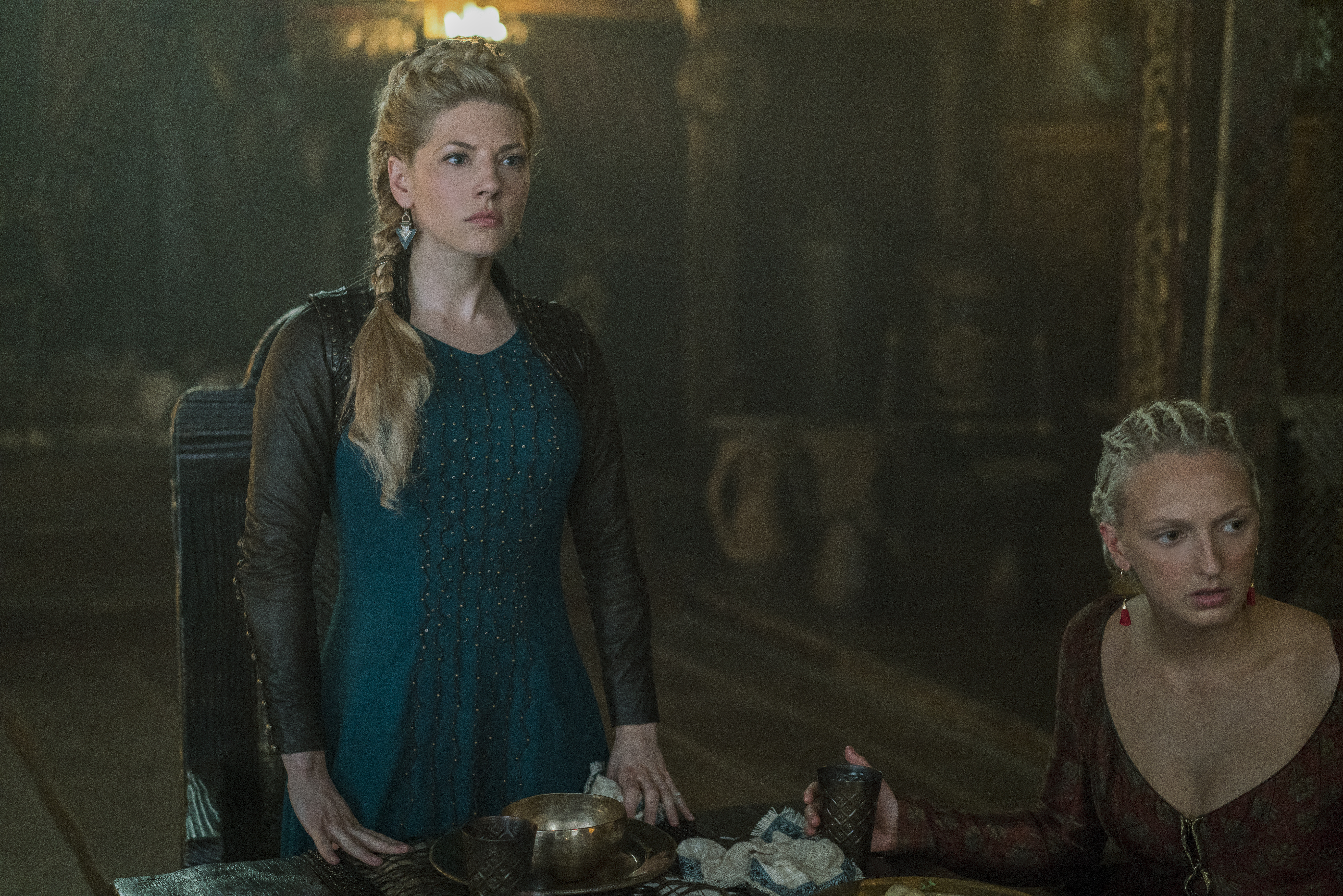 FOX Premium - VIKINGS 5 - Katheryn Winnick es Lagertha