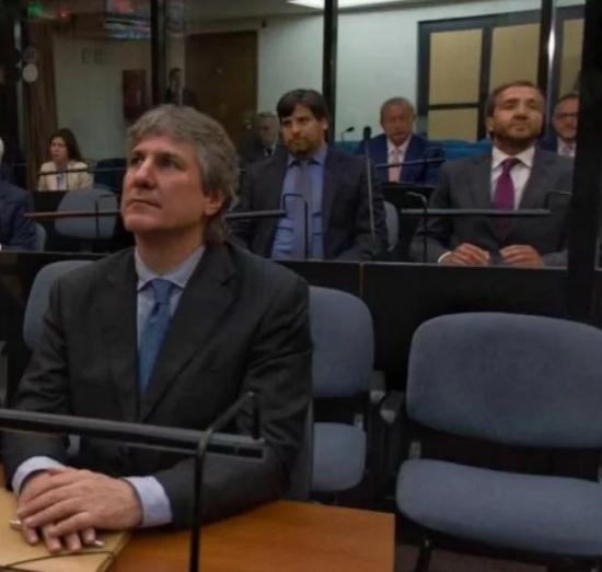 Boudou y Vandenbroele, juntos, en el juicio por Ciccone.