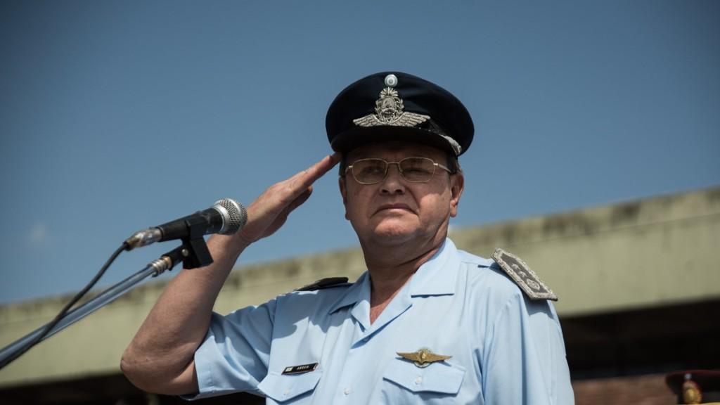 Amreim, actual jefe de la Fuerza Aérea, era el encargado de la Escuela de Vuelo.