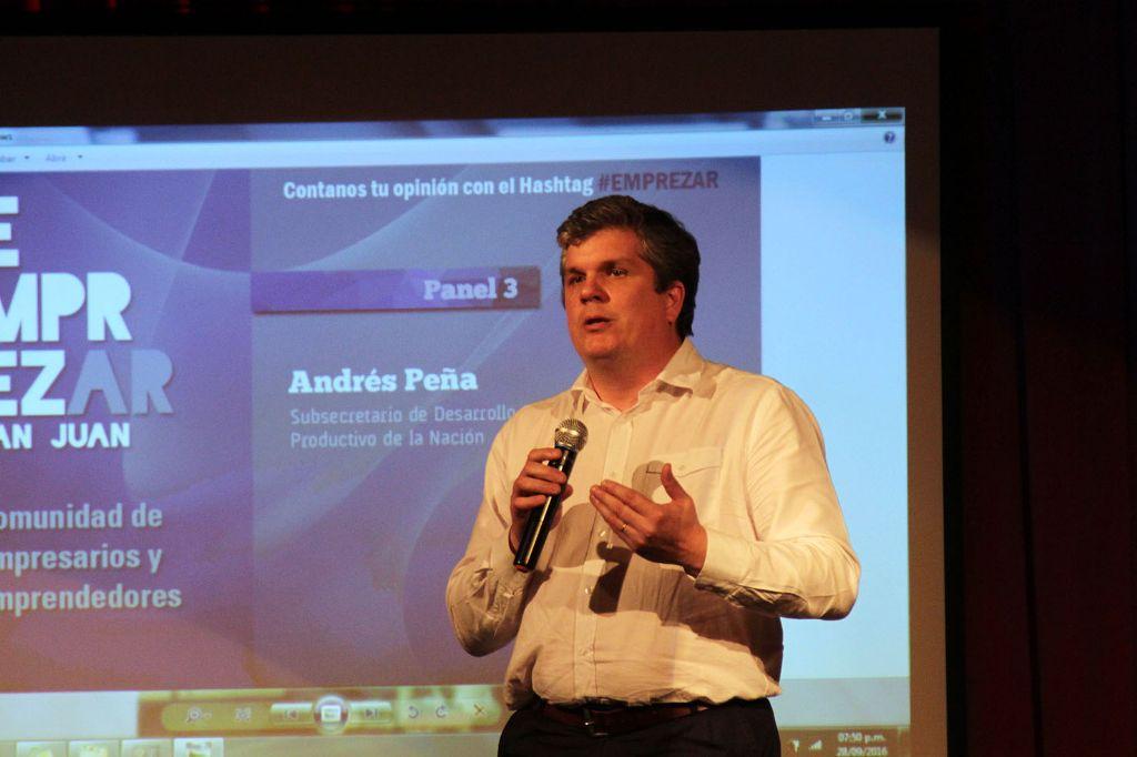 Andrés Peña, hermano de Marcos, subsecretario en Producción. Deberá renunciar.