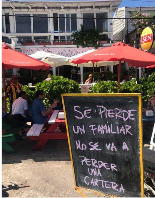 El mensaje de los empleados de No Me Olvides a Candelaria Tinelli. Un método habitual de Palacios.